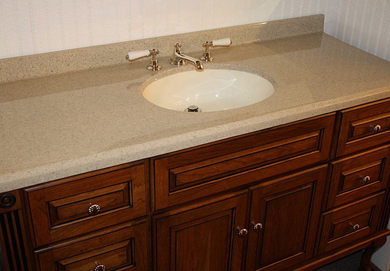 All In One Vanity Tops : Custom vanity tops taylor tere stone