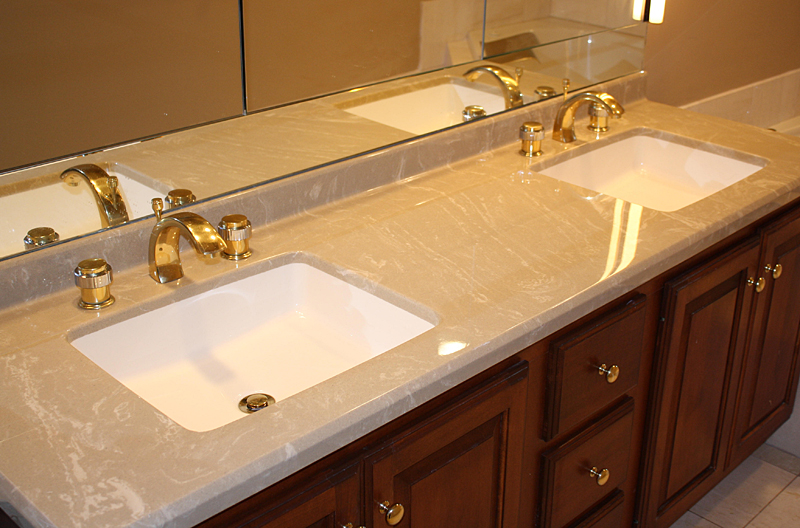 Stone Vanity Tops For Bathrooms : Custom vanity tops taylor tere stone