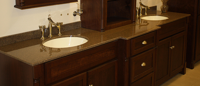 Custom Bathroom Vanity Tops With Sinks custom vanity tops taylor: tere-stone®