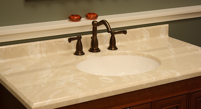 Standard Vanity Tops on bathroom vanity cabinet sizes